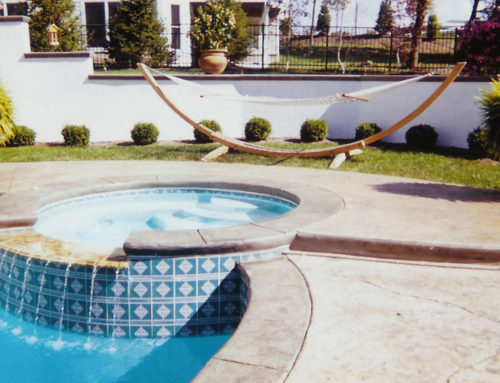 A GUNITE POOL BY NEXT SUMMER?